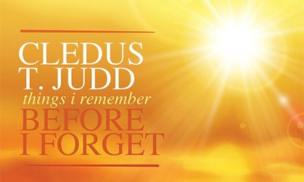 Cledus T Judd releases 'Things I Remember Before I Forget'
