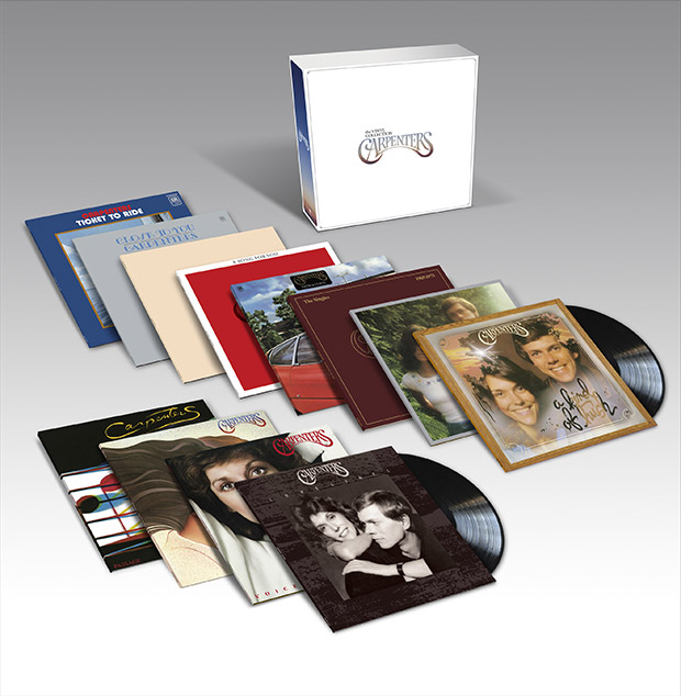 The Carpenters 12 LP 'The Vinyl Collection' set for Nov 17th