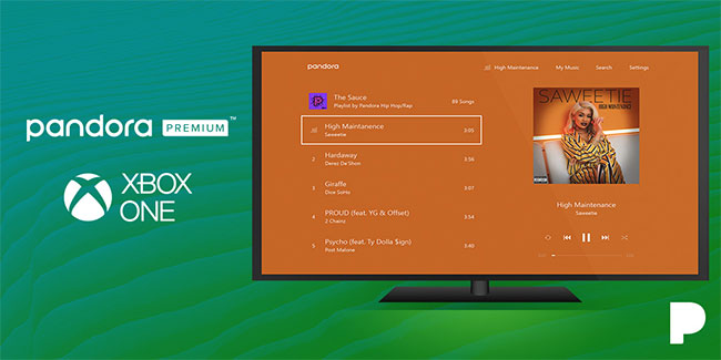 Experience the All-New Pandora on Xbox One