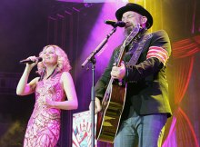 Sugarland at Rabobank Arena, Bakersfield, CA June 15, 2018