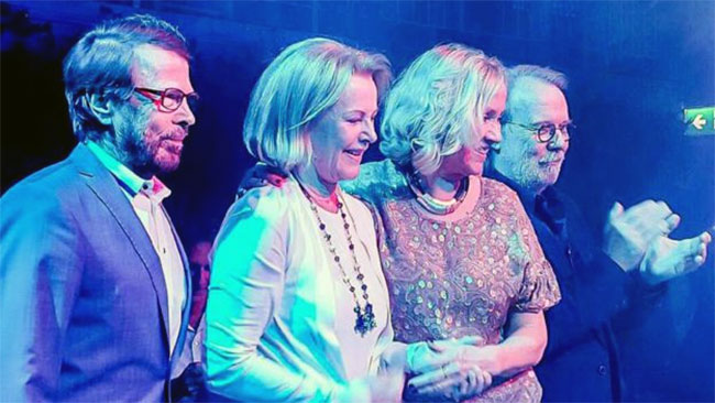 ABBA reuniting after 35 years