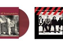 U2 colored vinyl reissues