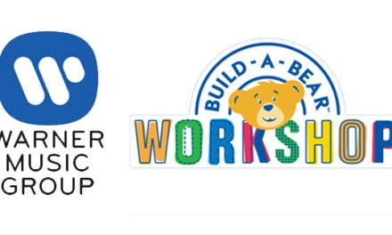Warner Music, Build-A-Bear Workshop team for record label
