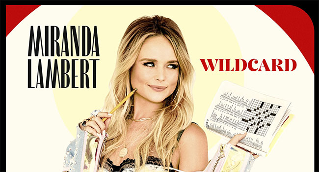Miranda Lambert announces 'Wildcard' for Nov 1st