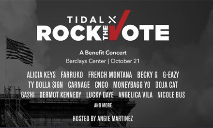 Alicia Keys, Becky G among TIDAL X Rock The Vote performers