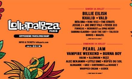 Pearl Jam, Billie Eilish among Lollapalooza Paris 2020 headliners