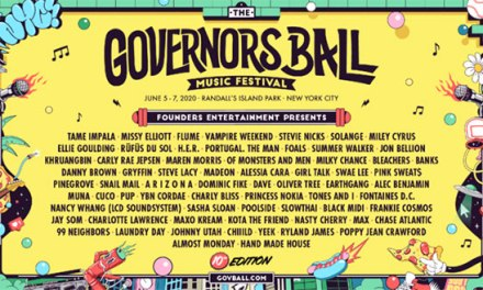 Tenth Annual Governors Ball Music Festival announces 2020 lineup