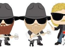 ZZ Top Funko Pop