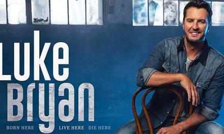 Luke Bryan scores sixth consecutive No 1 album