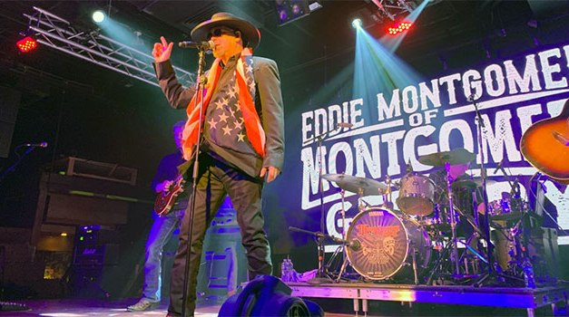 Eddie Montgomery is a 'Lucky Man'