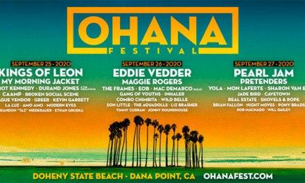 Pearl Jam, Kings of Leon headlining Ohana Festival