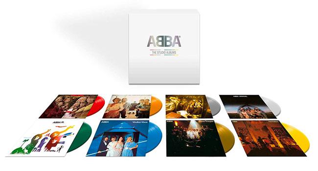 ABBA announces 8 LP colored vinyl box set