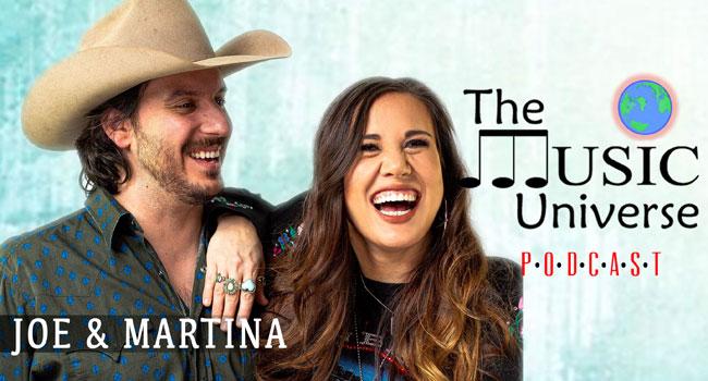 Joe & Martina on The Music Universe Podcast