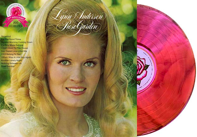 Lynn Anderson 'Rose Garden' Deluxe Collector's Edition LP detailed