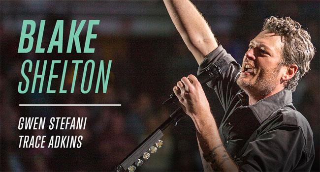 Blake Shelton Encore Live