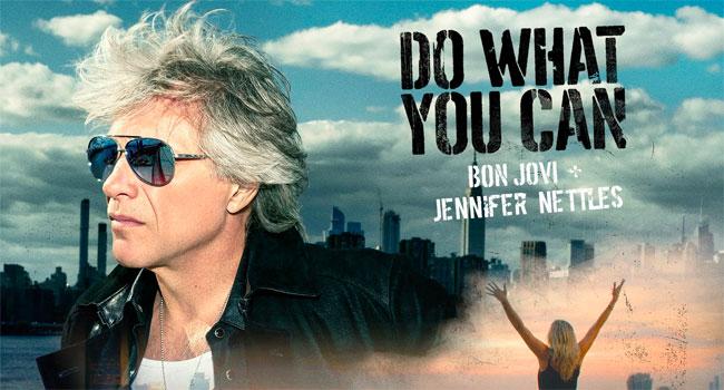 Bon Jovi, Jennifer Nettles team for 'Do What You Can' duet