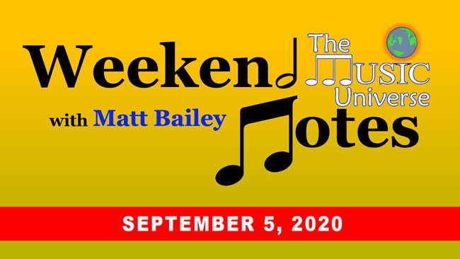 Weekend Notes 9/5/20