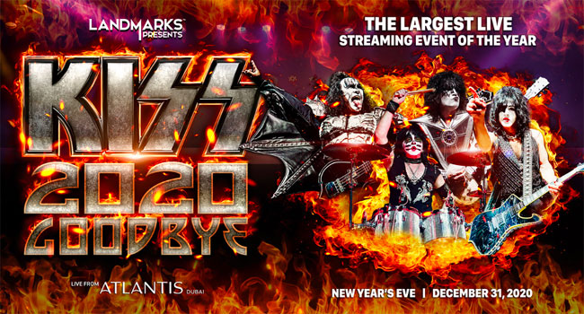 KISS says goodbye to 2020 with many, many explosions (and killer music)