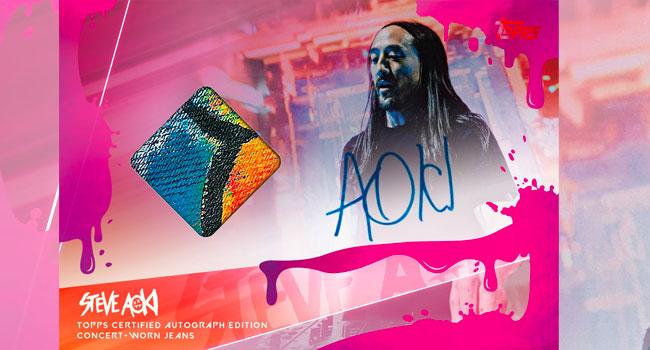 Steve Aoki Topps Card