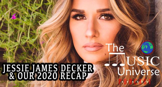 Jessie James Decker on The Music Universe Podcast