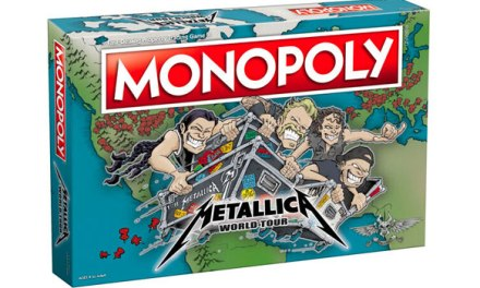 Metallica teams with Monopoly for second time