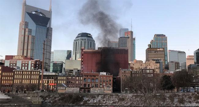 Christmas Day vehicle explosion rocks Nashville