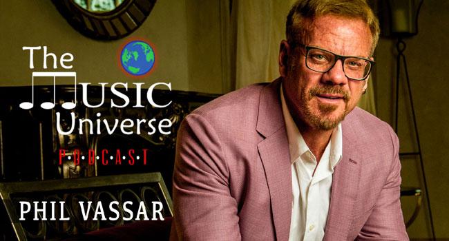 Phil Vassar on The Music Universe Podcast