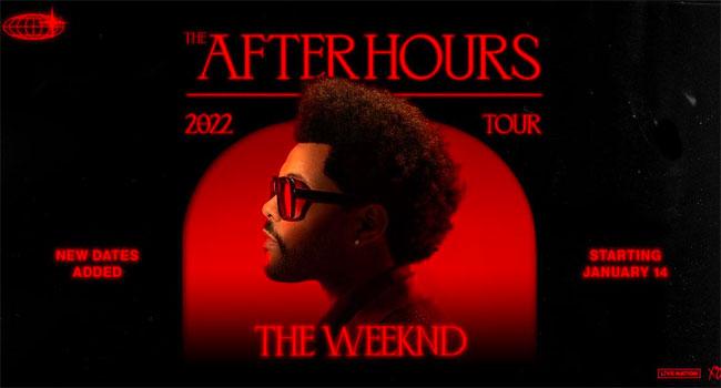 The Weeknd plots massive 2022 world tour