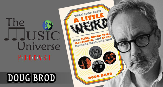 Doug Brod on The Music Universe Podcast