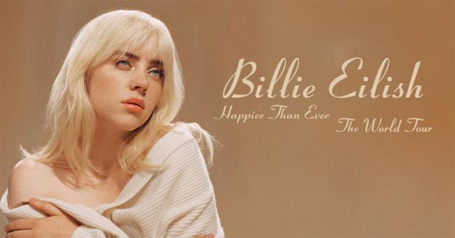 Billie Eilish Happier Than Ever, The World Tour 2022