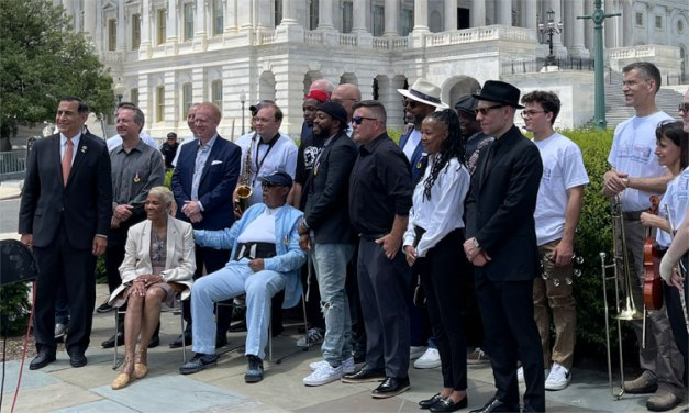 Legendary artists on hand in Washington for launch of American Music Fairness Act