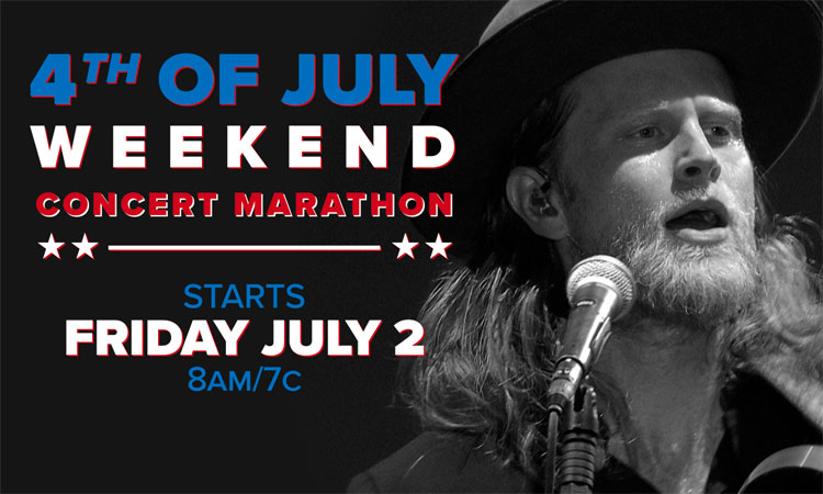 AXS TV celebrates 4th of July with four days of concerts