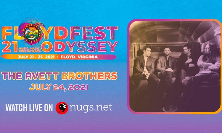 Avett Brothers FloydFest 2021