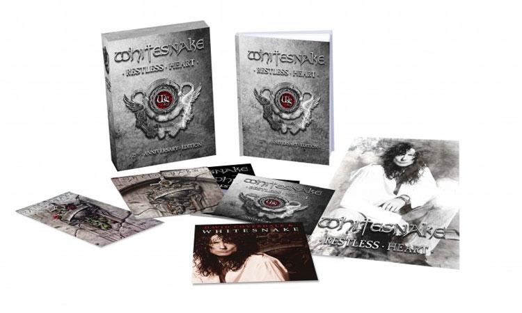 Whitesnake - Restless Heart: 25th Anniversary