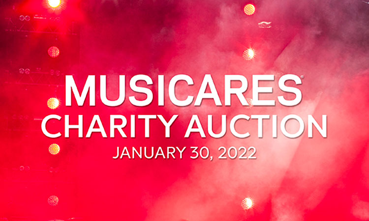 2022 MusiCares Charity Relief Auction