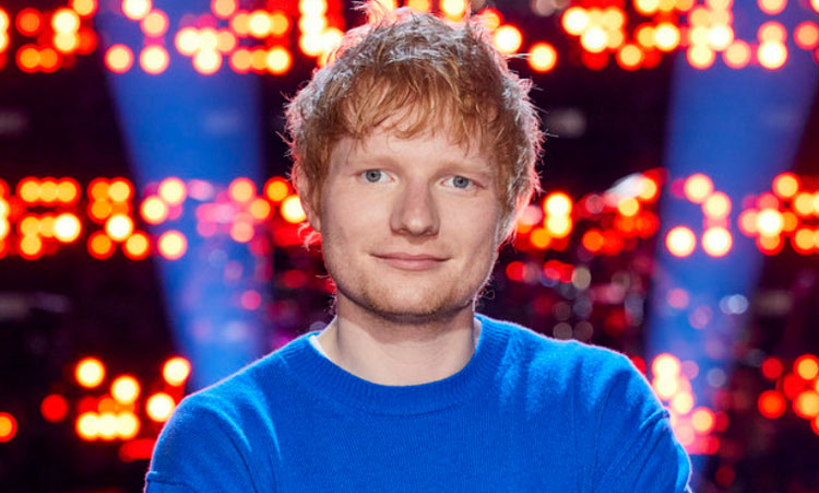 Ed Sheeran on The Voice