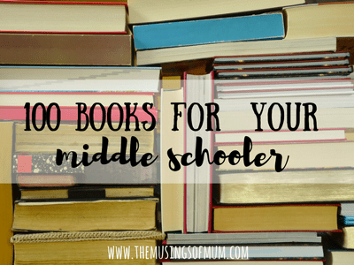 100 Books for Your Middle Schooler