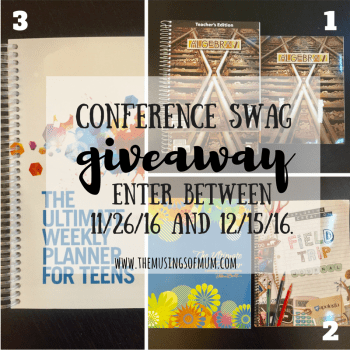 Conference Giveaway - The Musings of Mum