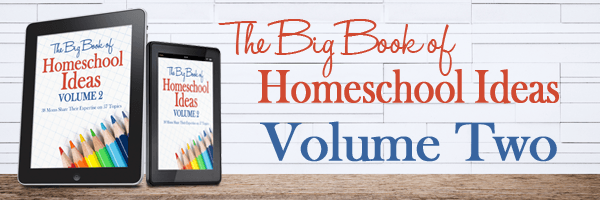 Big Book | Encouragement and Inspiration for the Homeschool Blahs