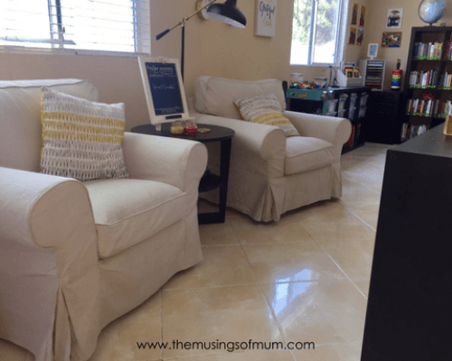 Our Organized Homeschool Space Photo Tour - The Musings of Mum