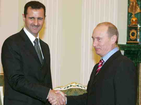 Putin and Assad pic