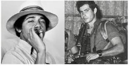 obama-smoking-pot-and-bibi-as-commando