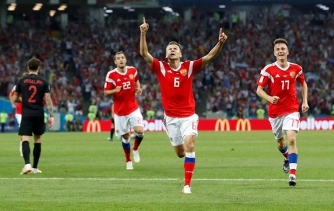 Russia salutes 'heroes' after Croatia ends World Cup dream