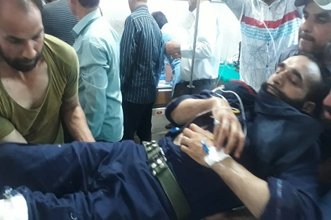 Bank guard, civilian injured after gunmen attempt to loot bank in Kulgam