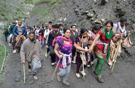 724 pilgrims leave for Amarnath Yatra base camps from Jammu