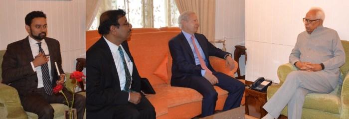 US Ambassador meets Governor