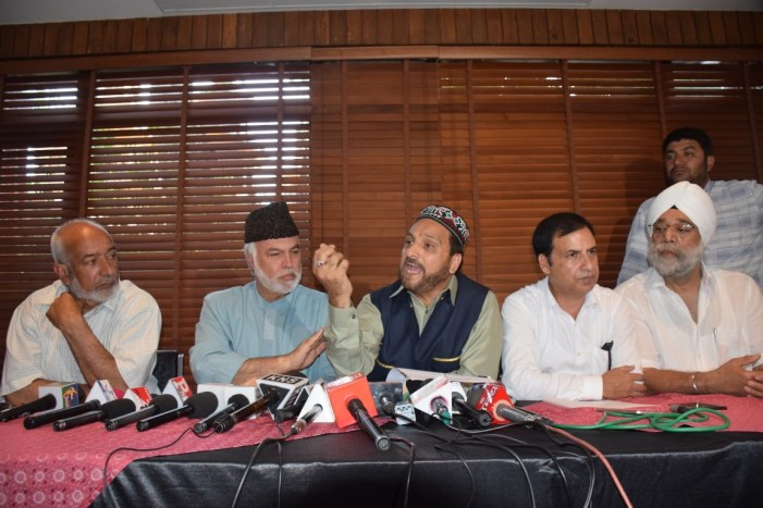 JKCSCC calls for state-wide shutdown on August 27 to protest onslaught on Article 35-A, 370