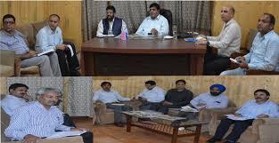 Advisor Vyas for speedy expansion of Srinagar drainage network