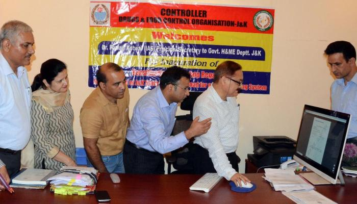 Dr Kotwal launches online drug licensing system