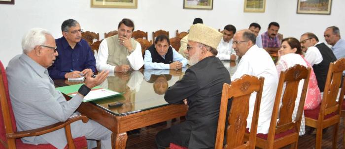 NC delegation meets Governor